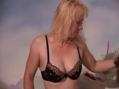 Nylon Fetisch Porno - Meine perverse Nachbarin